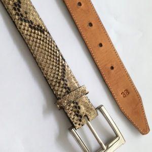 Other - Snakeskin Belt